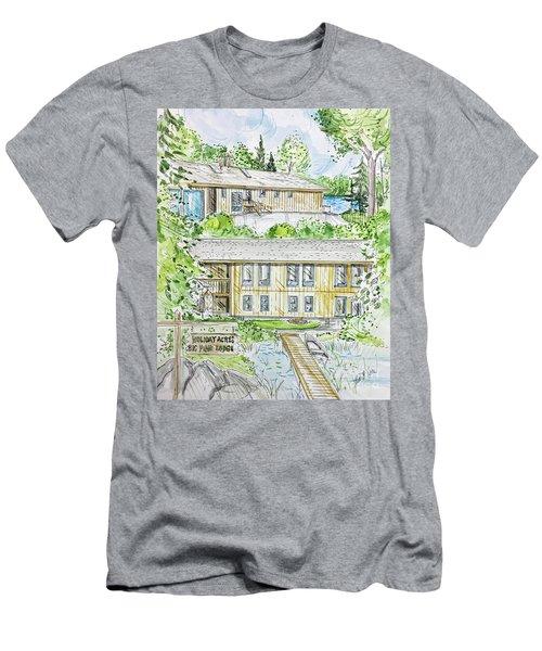 Rendering Sample H-37 Men's T-Shirt (Athletic Fit)