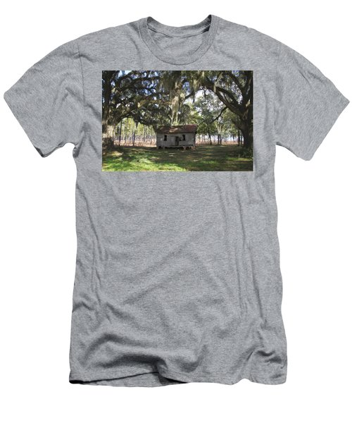 Resting Under The Big Shade Trees Men's T-Shirt (Athletic Fit)