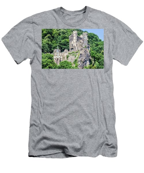 Rheinstein Castle Men's T-Shirt (Athletic Fit)