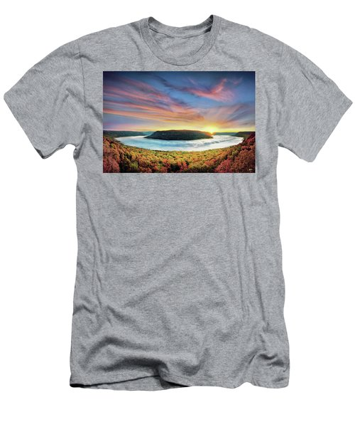 River Of Fog Men's T-Shirt (Athletic Fit)