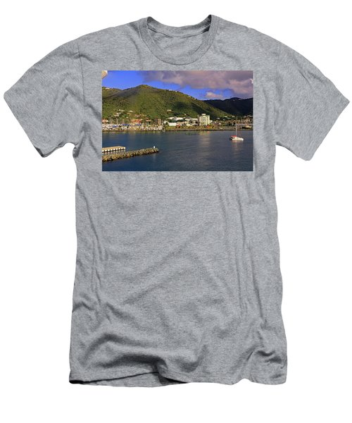 Men's T-Shirt (Athletic Fit) featuring the photograph Road Harbour by Tony Murtagh