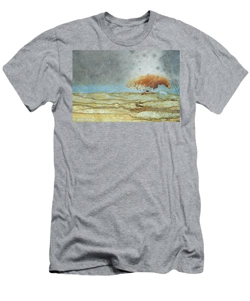 Rock Stain Abstract 1 Men's T-Shirt (Athletic Fit)