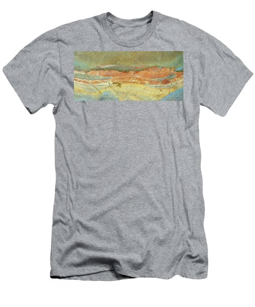 Rock Stain Abstract 2 Men's T-Shirt (Athletic Fit)