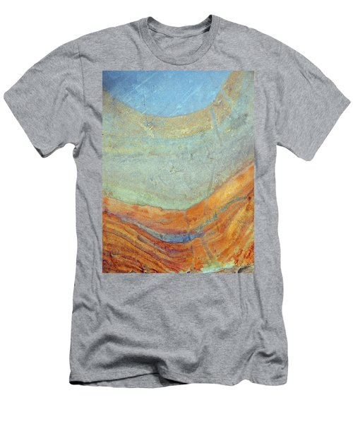 Rock Stain Abstract 7 Men's T-Shirt (Athletic Fit)