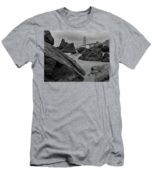 Rocky Marshall's Beach Men's T-Shirt (Athletic Fit)