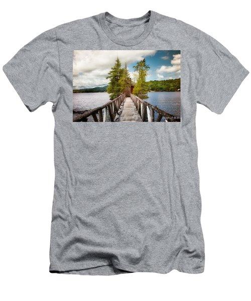 Rocky Point Men's T-Shirt (Athletic Fit)