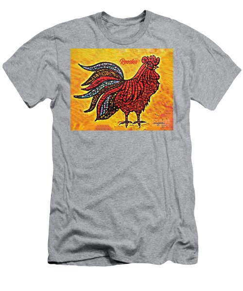 Rooster In The Moring Men's T-Shirt (Athletic Fit)