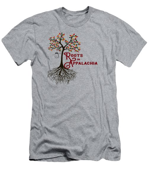 Roots In Appalachia Lightning Bugs Men's T-Shirt (Athletic Fit)