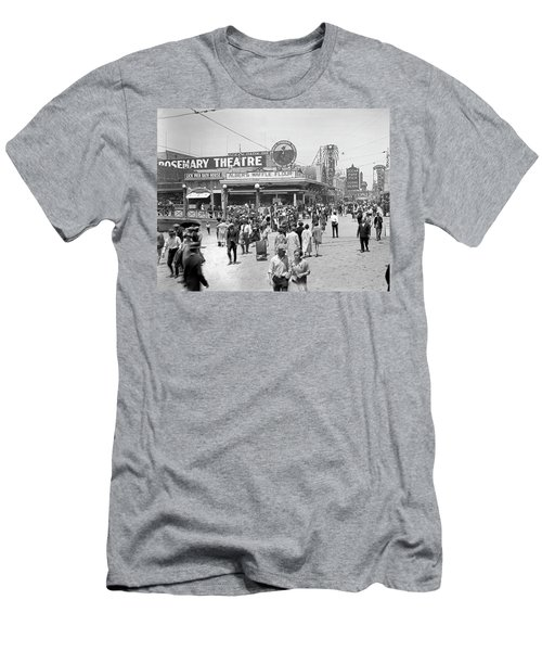 Rosemary Theater Santa Monica Men's T-Shirt (Athletic Fit)