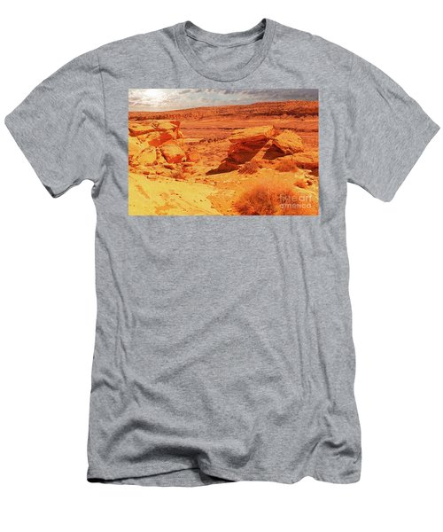 Ruins Within Chaco Canyon Men's T-Shirt (Athletic Fit)