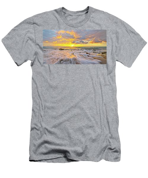 Rushing Surf Men's T-Shirt (Athletic Fit)