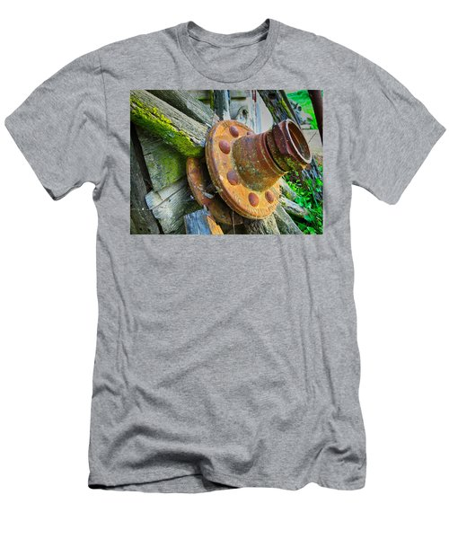 Rusted Hub Men's T-Shirt (Athletic Fit)