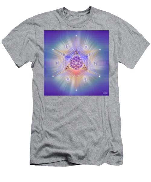 Sacred Geometry 734 Men's T-Shirt (Athletic Fit)