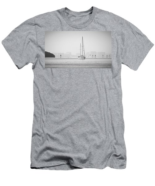 Sail Out Of Sarasota Men's T-Shirt (Athletic Fit)