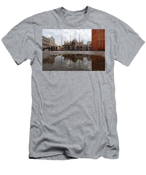 San Marco Cathedral Venice Italy Men's T-Shirt (Athletic Fit)