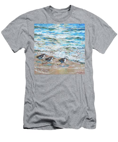 Sanderlings Running Men's T-Shirt (Athletic Fit)