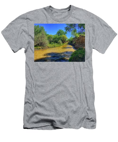 Men's T-Shirt (Athletic Fit) featuring the photograph Sandhills Summer by Dan Miller