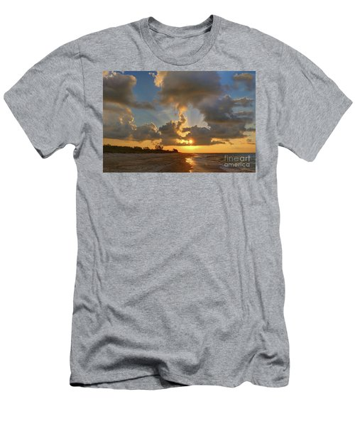 Sanibel Island Sunrays Men's T-Shirt (Athletic Fit)