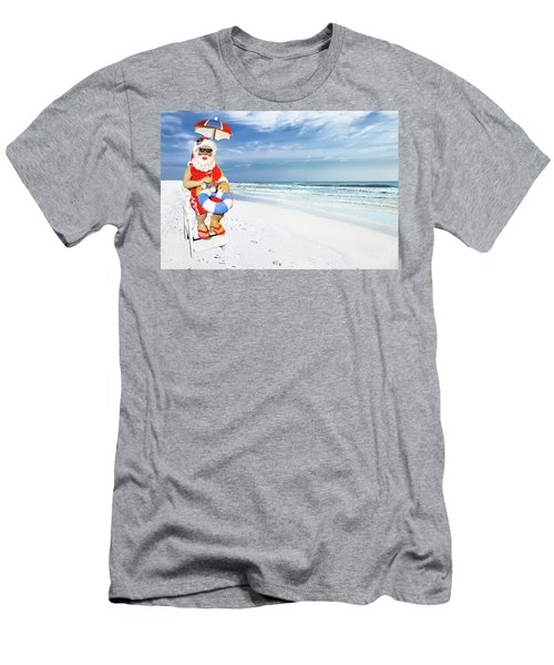 Santa Lifeguard Men's T-Shirt (Athletic Fit)