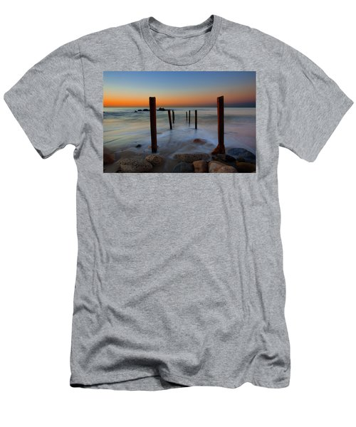Santa Monica Sunrise Men's T-Shirt (Athletic Fit)