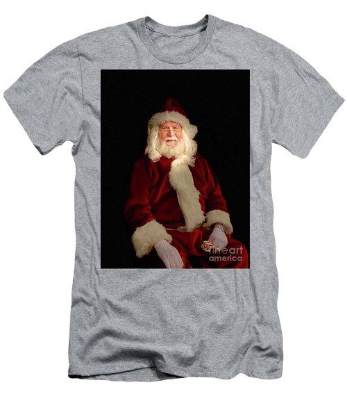 Santa Men's T-Shirt (Athletic Fit)