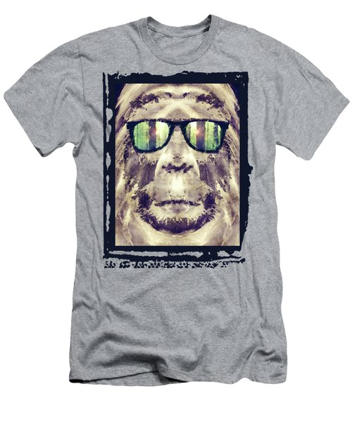 Sasquatch Incognito Men's T-Shirt (Athletic Fit)