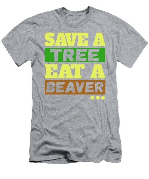 Save A Tree Men's T-Shirt (Athletic Fit)