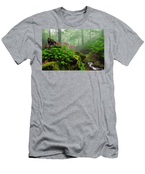 Scent Of Spring Men's T-Shirt (Athletic Fit)
