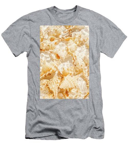 Seashell Tropics Men's T-Shirt (Athletic Fit)