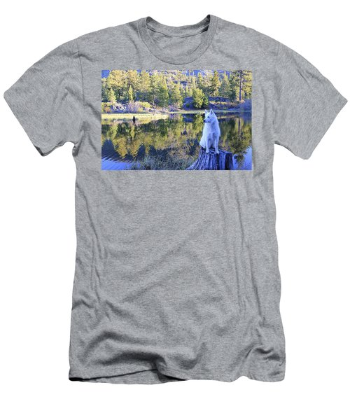 Men's T-Shirt (Athletic Fit) featuring the photograph Sekani Throne  by Sean Sarsfield