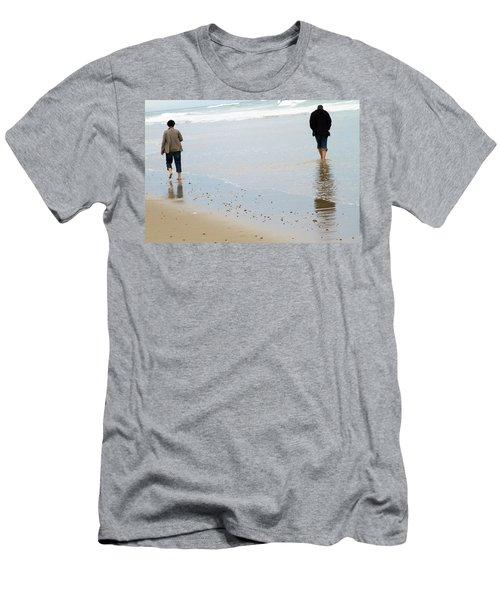 Separate Ways Men's T-Shirt (Athletic Fit)