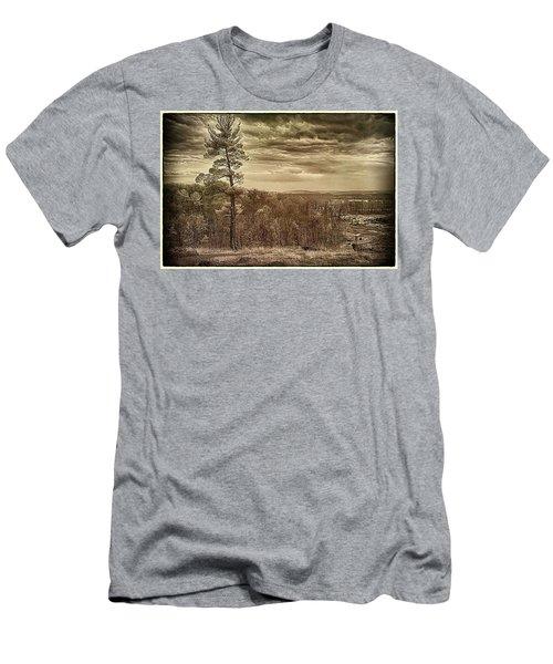 Sepia Sunset Men's T-Shirt (Athletic Fit)