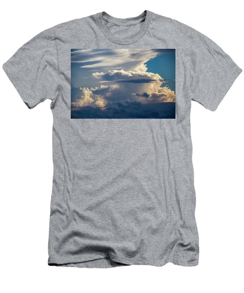 Men's T-Shirt (Athletic Fit) featuring the photograph September Storm Chasing 015 by NebraskaSC
