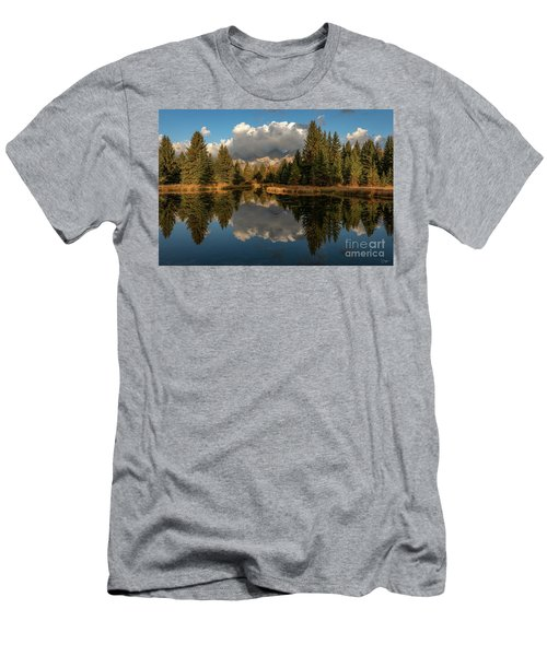 Serene At Schwabachers Landing Men's T-Shirt (Athletic Fit)