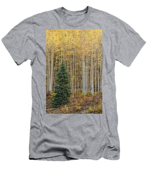 Men's T-Shirt (Athletic Fit) featuring the photograph Shimmer by Angela Moyer