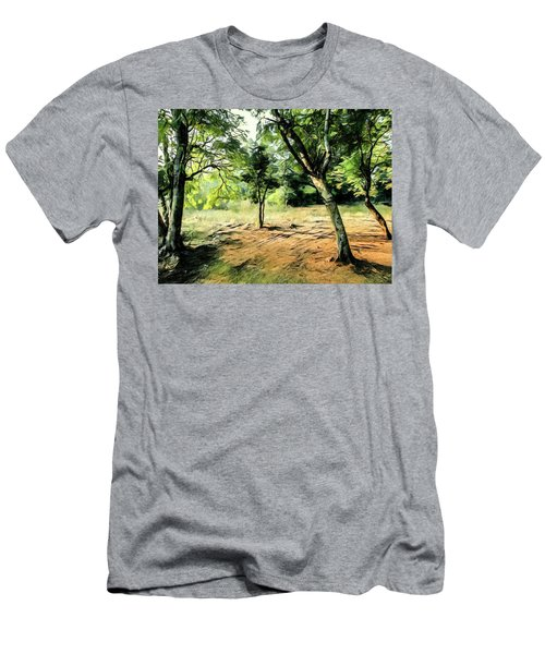 Silence Of Forest Men's T-Shirt (Athletic Fit)