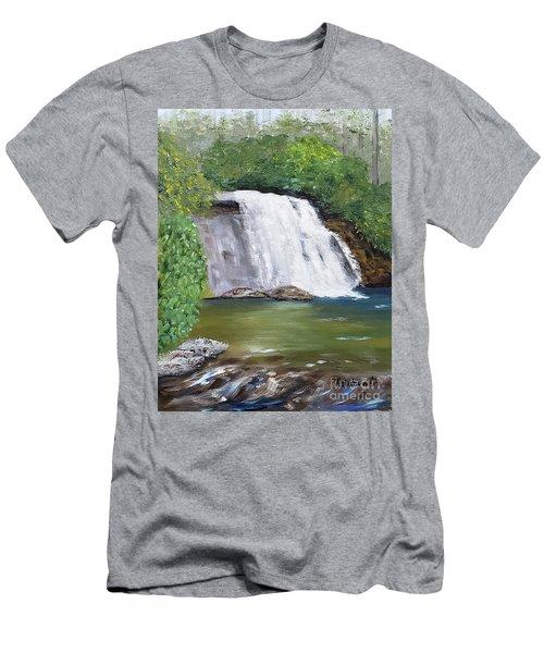 Silver Run Falls Men's T-Shirt (Athletic Fit)