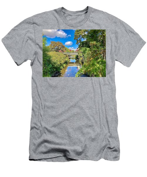 Men's T-Shirt (Athletic Fit) featuring the photograph Silverton Gazing by Brian Eberly