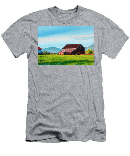 Skagit Valley Barn Men's T-Shirt (Athletic Fit)