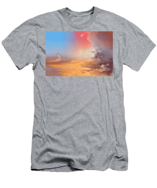 Sky Fight Men's T-Shirt (Athletic Fit)
