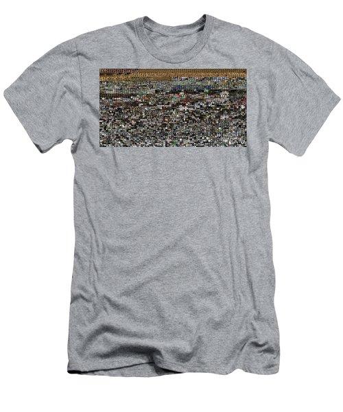 Slice Of Lanscape Men's T-Shirt (Athletic Fit)