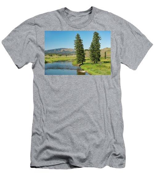 Slough Creek Men's T-Shirt (Athletic Fit)