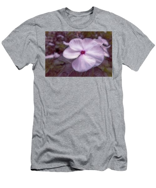 Small Flower Men's T-Shirt (Athletic Fit)