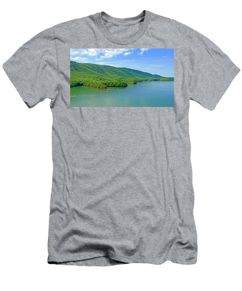 Smith Mountain Lake Men's T-Shirt (Athletic Fit)
