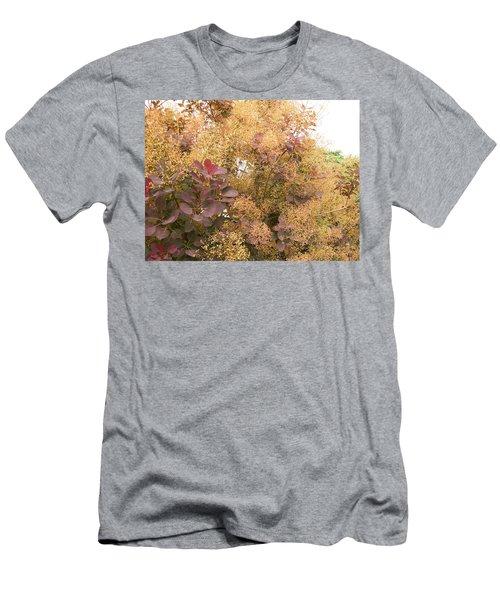 Smoke Bush  Men's T-Shirt (Athletic Fit)