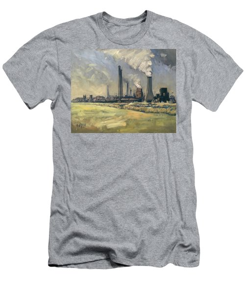 Smoke Stacks Prins Maurits Mine Men's T-Shirt (Athletic Fit)