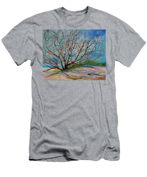Smyrna Dunes Men's T-Shirt (Athletic Fit)