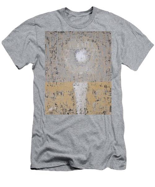 Snow Moon Original Painting Men's T-Shirt (Athletic Fit)