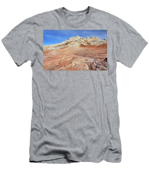 Solid Waves Pano Men's T-Shirt (Athletic Fit)