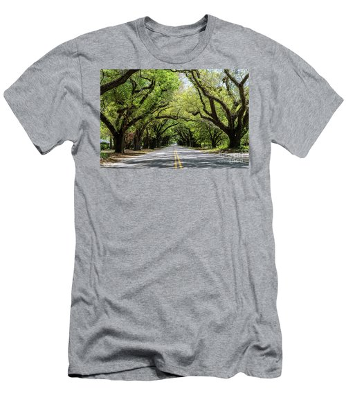 South Boundary Ave Aiken Sc Men's T-Shirt (Athletic Fit)